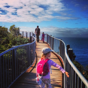 Cape Tourville Lighthouse Board Walk